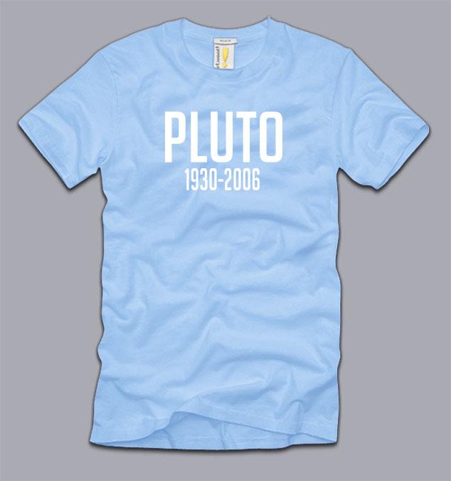 RIP PLUTO T-SHIRT S M L XL 2XL 3XL funny science geeky ...